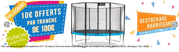 trampoline pour professionnel
