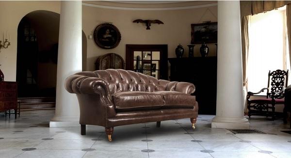 décoration avec fauteuil chesterfield