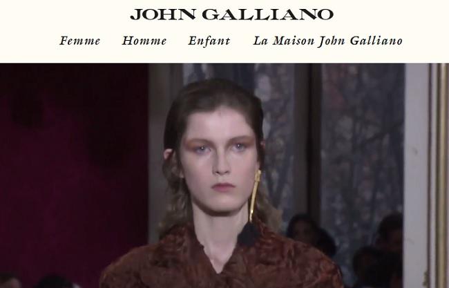 accessoire femme john galliano