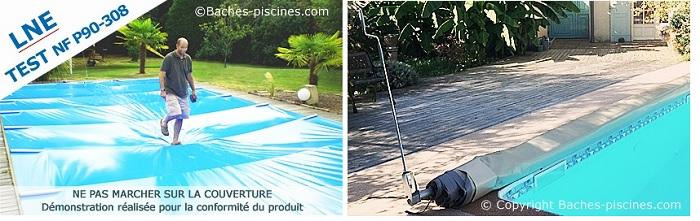 bache piscine hors sol sur mesure