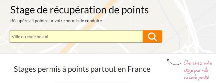 récupération de points Toulouse